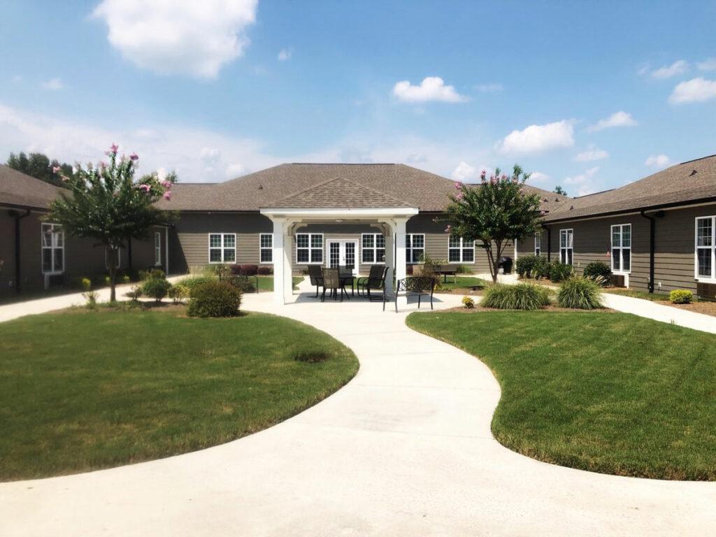 Orchard Ridge Residences   Courtyard